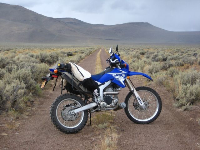 The WR250R in the Steens Mountain area. September 2011.