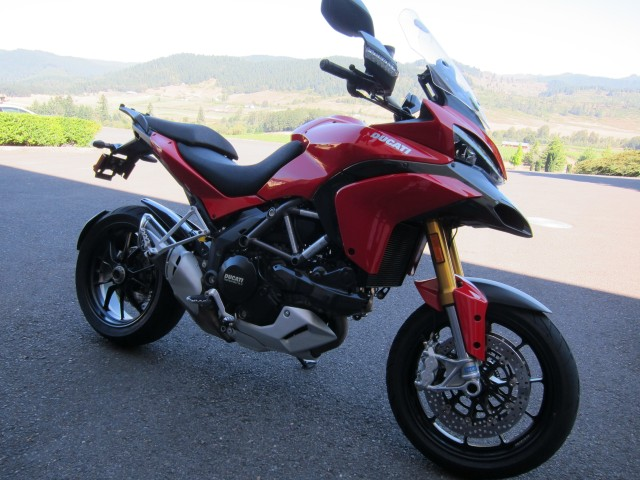 The 2010 Ducati Multistrada 1200.