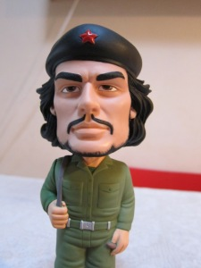 Che Guevara bobblehead doll.