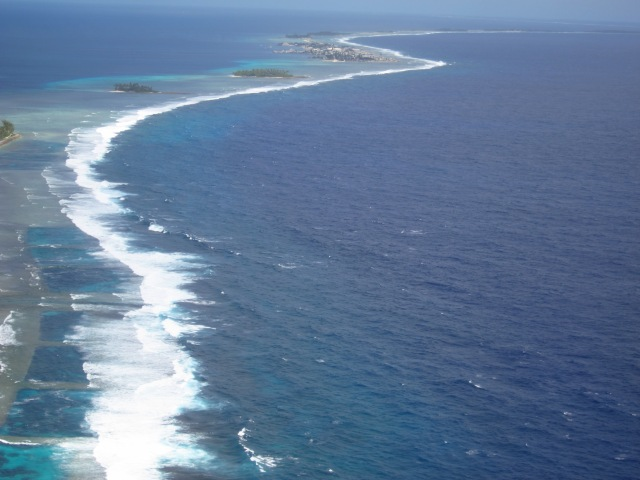 Ebeye, most populated Island in the Kwajalein Atoll