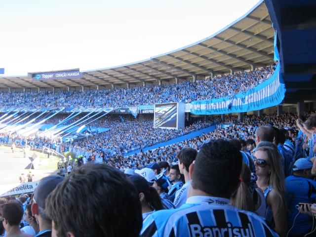 Last Gre-Nal in Gremio's Olimpico Stadium