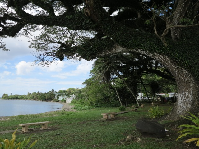 Guam, where Magellan landed.