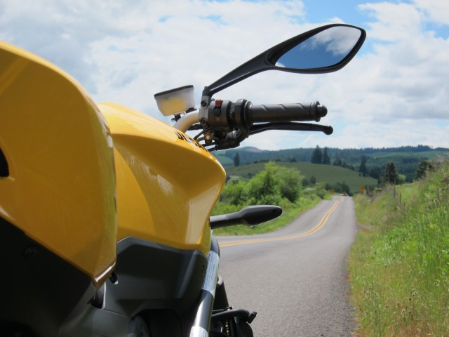 The 848 at the Briggs Mountain Rd. June 2, 2012