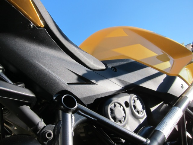 Blue skies and the Yellow Ducati. September 16, 2012