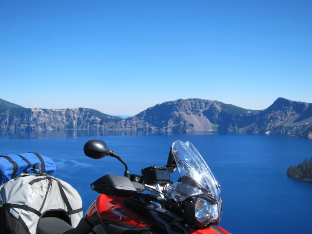 The Tiger sees the Crater Lake for the first time. September 2nd, 2012