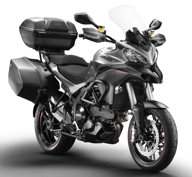 2013 Multistrada 1200 Granturismo. Photo form Ducati press release.