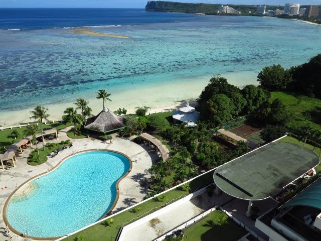Tumon Bay, in Guam. November 10th, 2012
