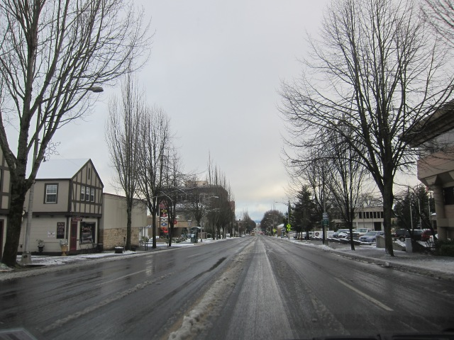 Downtown Olympia. December 18th, 2012
