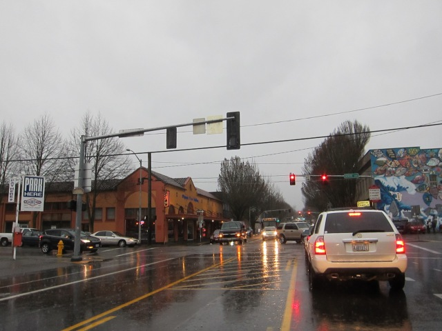 Downtown Olympia, December 19th, 2012