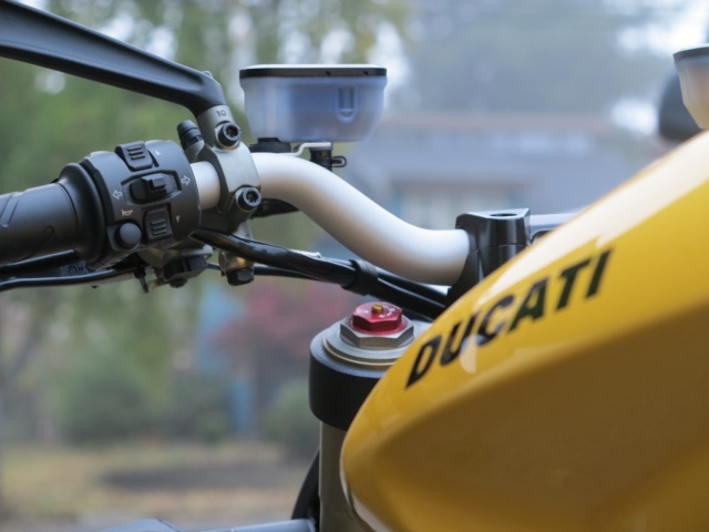 Last ride in the Ducati 848. October 2012