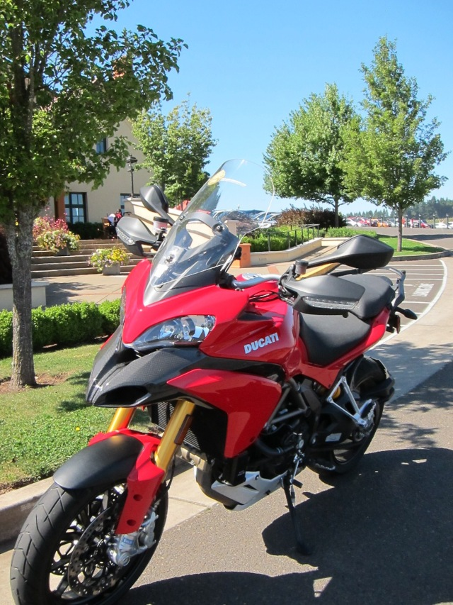 2010 Multistrada. Photo of September 2011