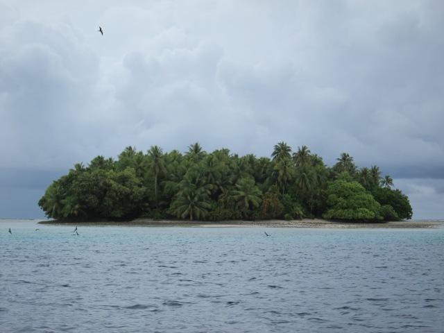 Island in Majuro Atoll. November 2012