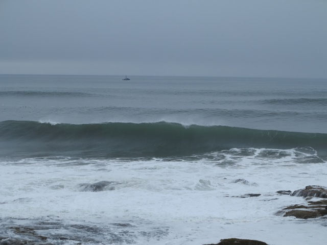Good swells, Yachats,  March 10th, 2013