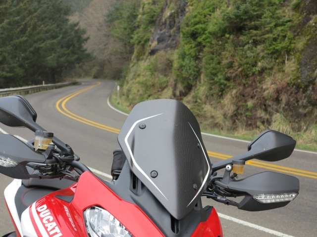 A bug? A bird? No, it is the Multistrada