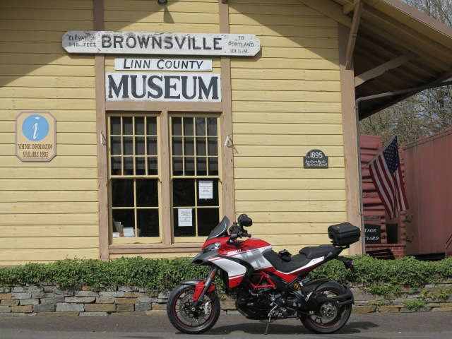 2013 Multistrada 1200 Pikes Peak in Brownsville, OR. March 17, 2013