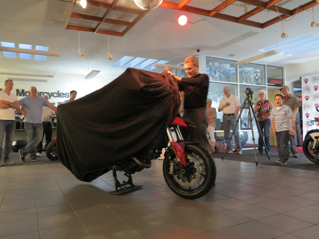 Unveiling of the Hyperstrada at the EMCWOR - April 26th, 2013
