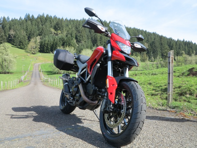 The 2013 Ducati Hyperstrada