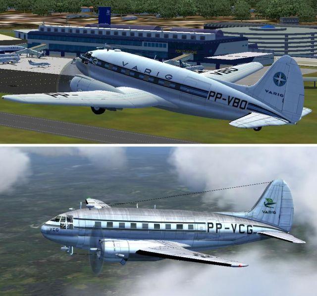 VARIG Curtiss C-46