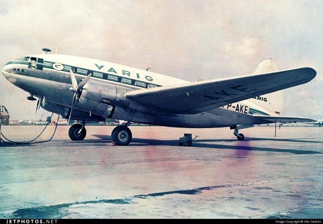 VARIG Curtiss C-46 Commando