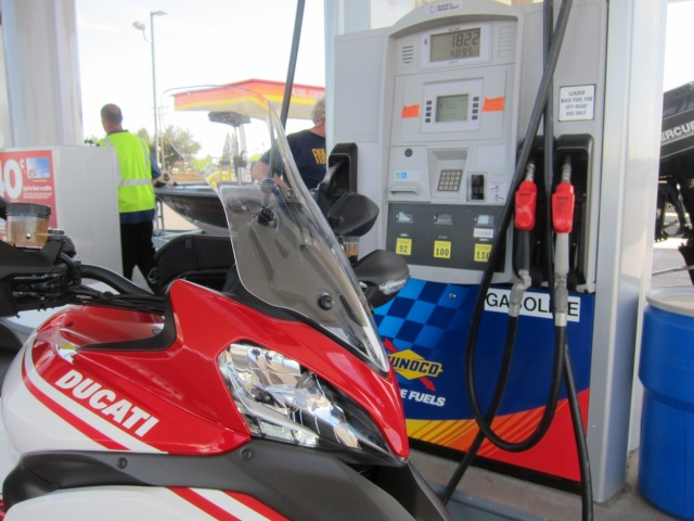 Non-ethanol fuel on Irving Road