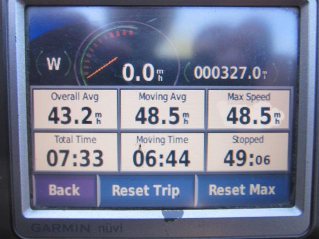 327 miles (526 km)