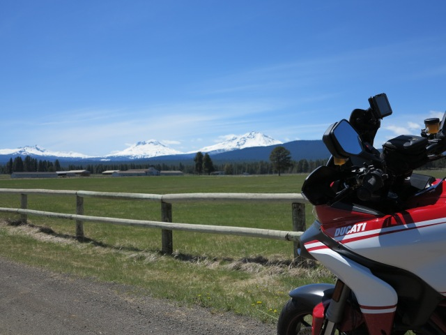 The Multistrada and the Three Sisters