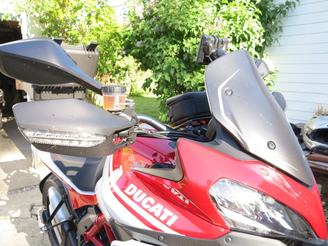Getting the Multistrada Ready for Another Adventure. May 5th, 2013