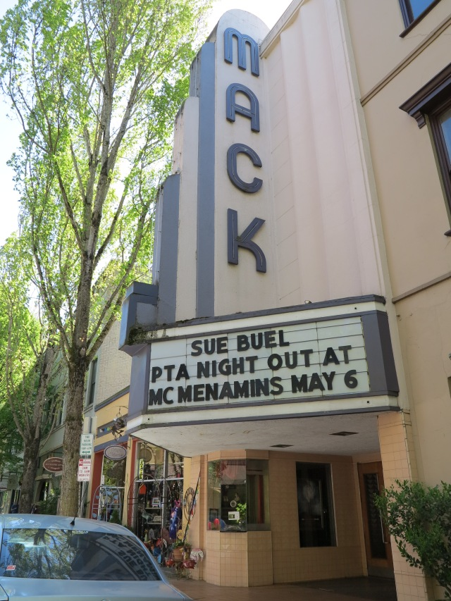 Movie Theater, McMinnville, May 5th, 2013