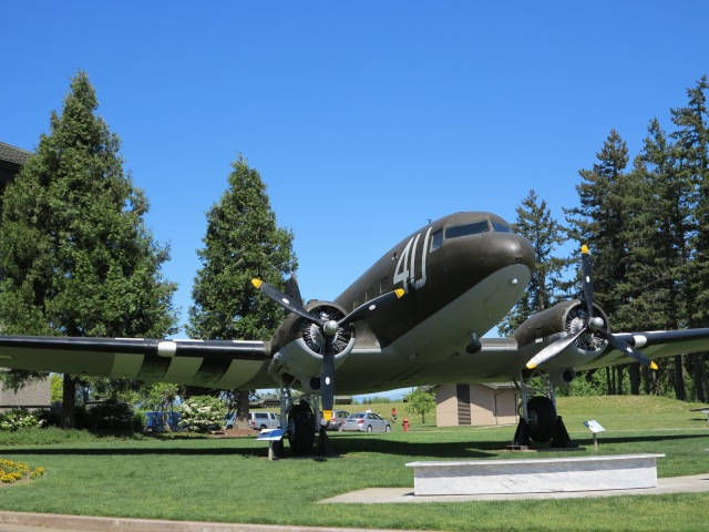 C-47 at the Evergreen Aviation Museum. McMinnville, OR, May 5th, 2013