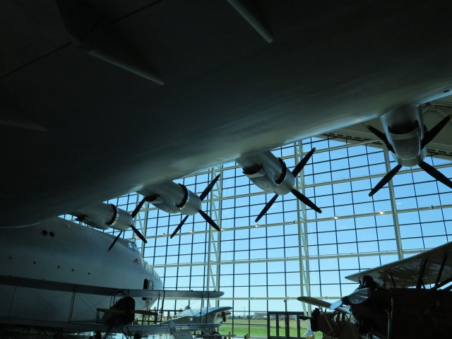 The Spruce Goose at the Evergreen Aviation Museum