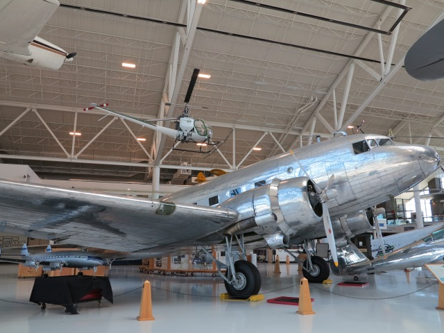 DC-3 at the Evergreen Museum, McMinnville, OR. May 5th, 2013