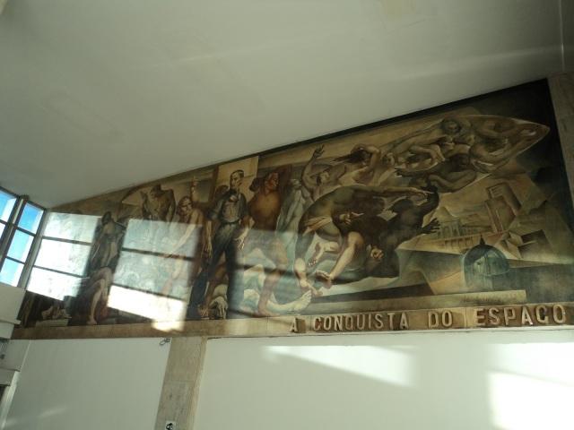 Aldo Locatelli's Mural, in Porto Alegre's old airport.