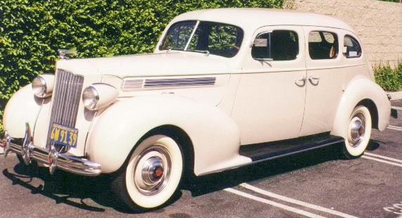 1939 or 1940 Packard (photo borrowed from the internet)