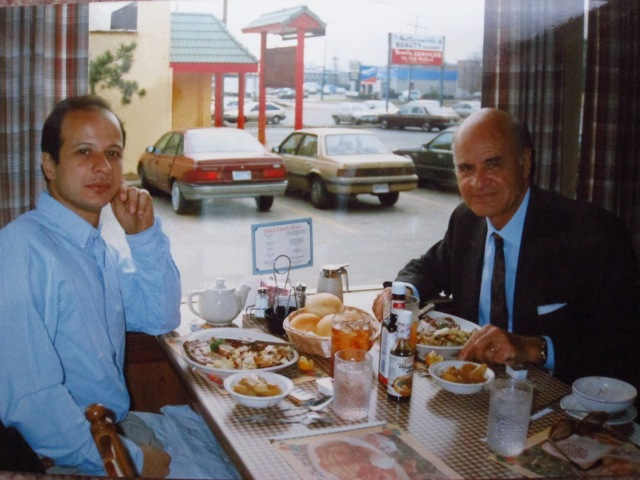With Francis, Columbus OH, around 1992