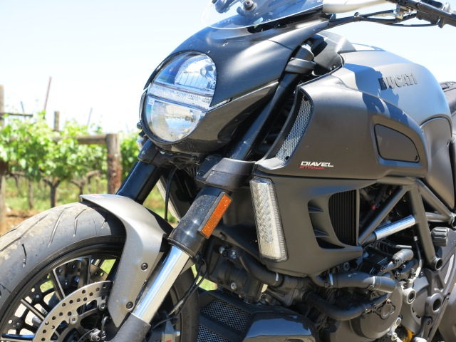 Aggressive Lines: The Diavel. Tested in June 8th, 2013