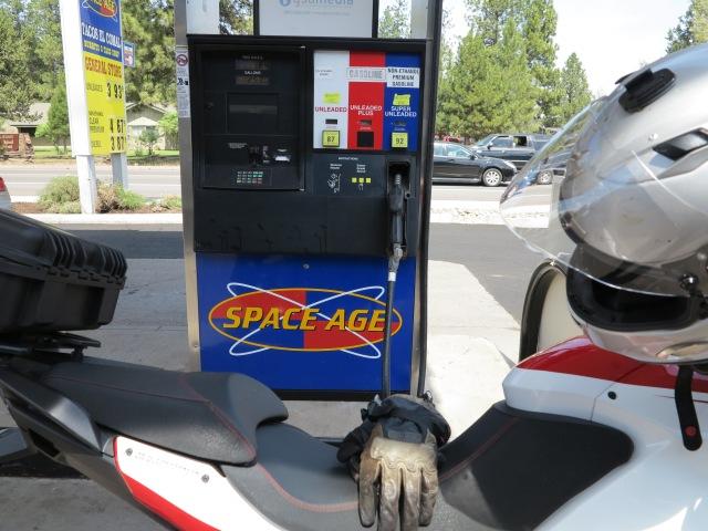 More non-ethanol gasoline.