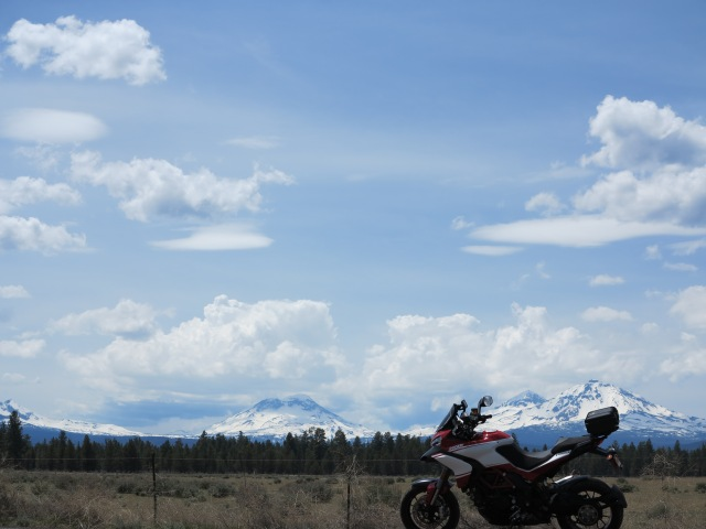 The Ducati and the Three Sisters, May 11, 2013