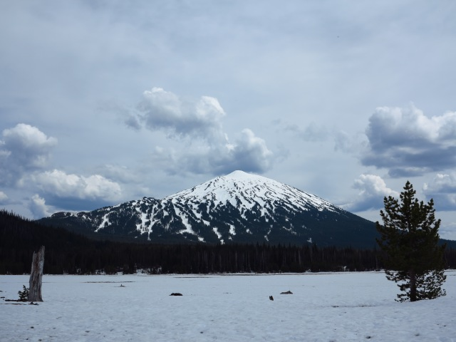 Mt. Bachelor, viewed from the west. May 11th, 2013