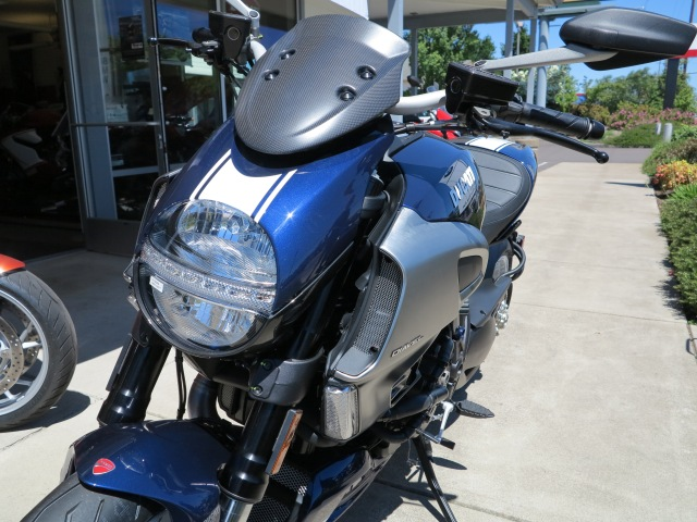 Beautiful Atlantic Blue 2013 Ducati Diavel