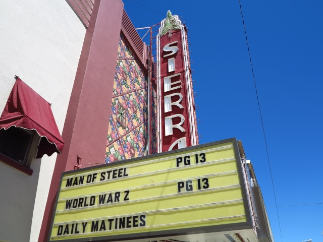 Sierra Movie Theater, Susanville, California