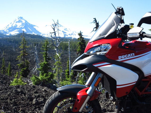 The Multistrada and the Sisters, June 30th, 2013