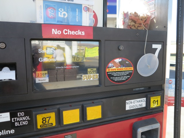 My database of non-ethanol gasoline stations has been invaluable