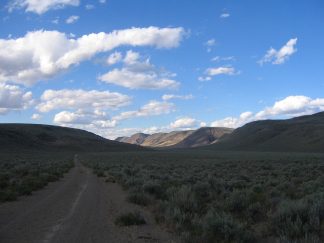 Funnel Canyon, the 2006 edition of the Lone Mountain Loop