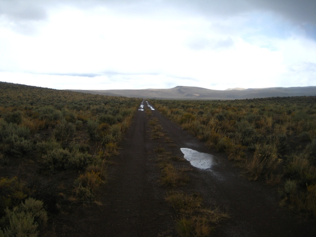 Leaving Hawks Valley, 2010 Edition of the Lone Mt. Loop.