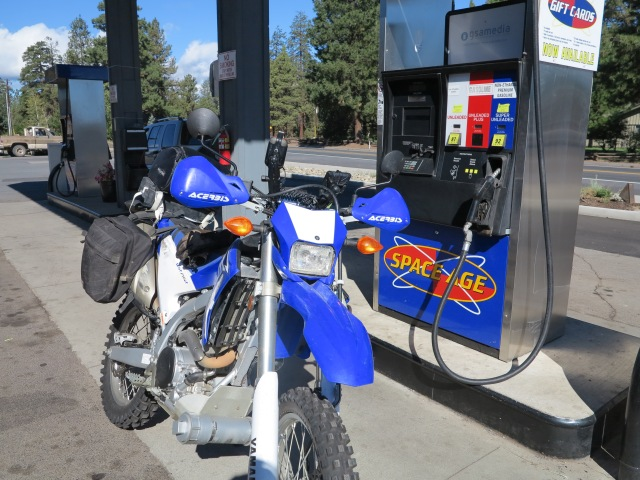 Full tank of Non-ethanol gasoline