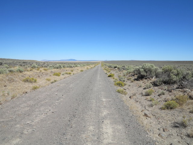 Road 6124, from Paisley to XL Ranch Road