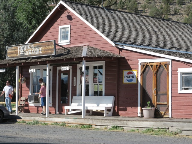 Frenchglen Mercantile, August 31st, 2013