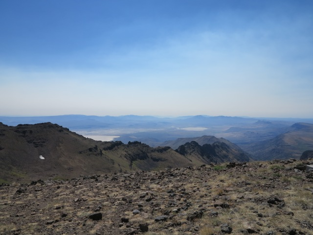Looking towards the south east, towards Nevada