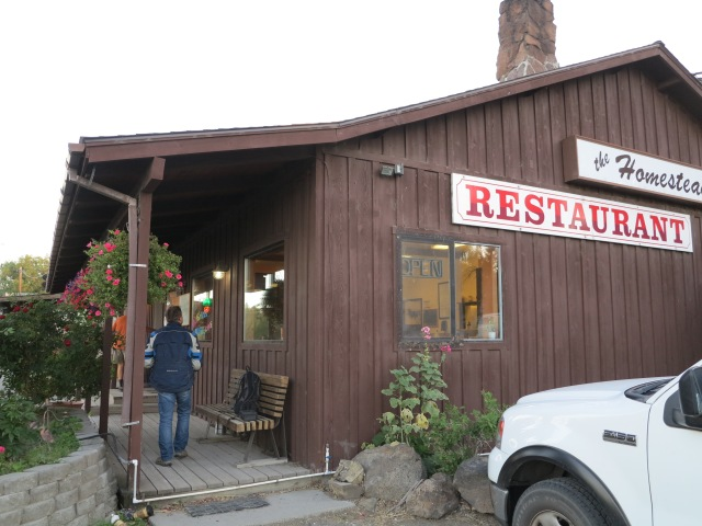 The Homestead Restaurant, Paisley, OR, September 2nd, 2013