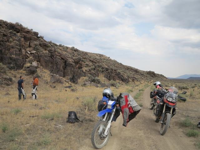 Lunch break. Lone Mountain Loop, 2013 Edition
